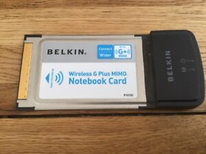 BELKIN WIRELESS G MIMO NOTEBOOK CARD DRIVER FOR WINDOWS 7