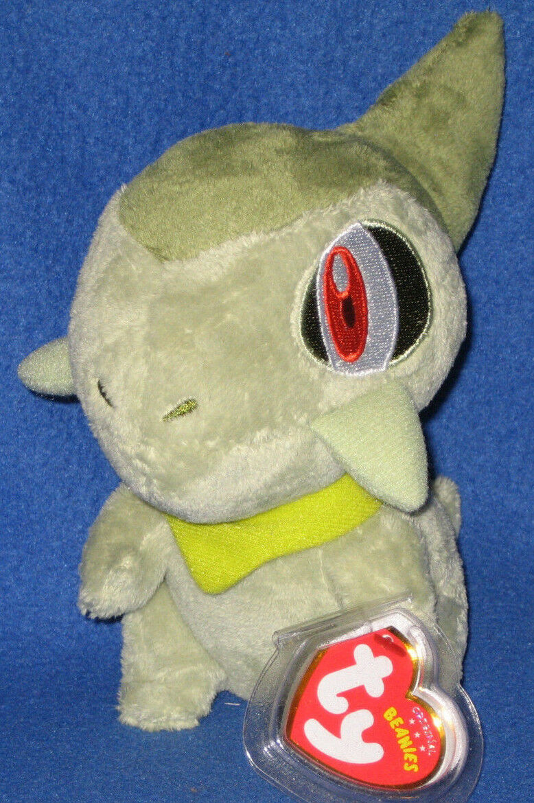 TY AXEW the POKEMON BEANIE BABY - MINT with MINT TAGS -  UK EXCLUSIVE