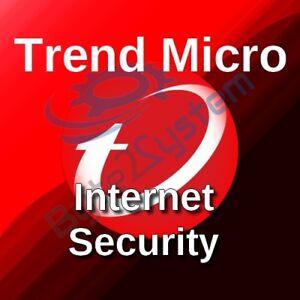 2019 Latest Design Trend Micro Internet Security 2018-1 Pc/1 Anno/nuova/esd/non Preattivata Fragrant In Flavor