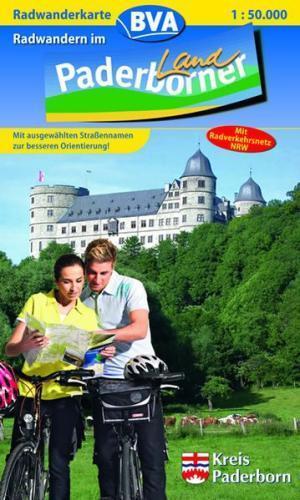 Lust auf Radwandern im Paderborner Land Radwanderkarte 1:500000 paderborn
