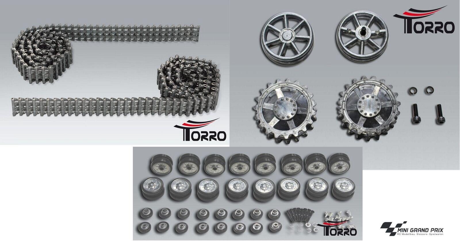 Torro catene in metallo + fai affluire U. leiträder + ruote per carri armati 4