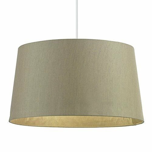 Endon Lighting Lighting Lighting Cordelia tamburo ombra, oro - 40.6cm W X 22cm H ddd059