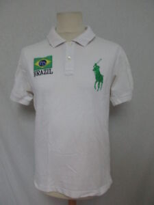 d49686471fee1c Polo Ralph Lauren BRAZIL Blanc Taille M à - 72%   eBay
