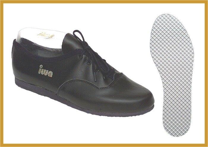 IWA 910 Jazz Tanz Sport Turn Freizeit Schuh    Ballerina schwarz weiß Gr 31-43 | Gewinnen Sie das Lob der Kunden  | Hohe Qualität und geringer Aufwand  b3b095