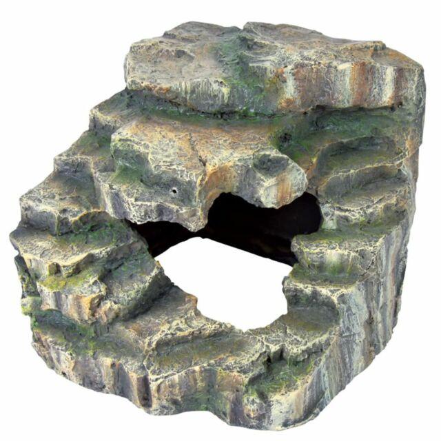 TRIXIE Roccia Angolare per Rettili 19x17x17 cm in Resina Poliestere 76195