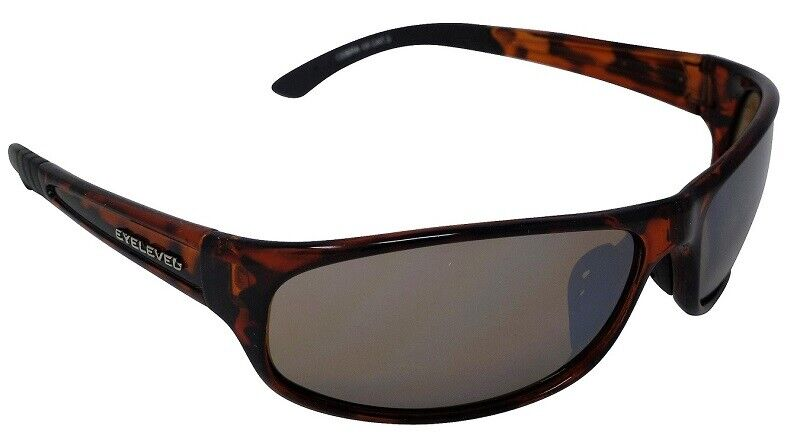 Cobra Tortoiseshell Sunglasses Bronze Mirror Cat-3 UV400 Shatterproof Lenses