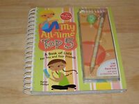 Klutz My All-time Top 5 Book Of Lists For You Girls Friends Activity Spiral