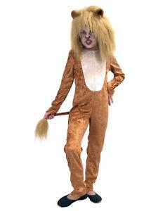 Lowe Fasching Kostum Tier Kinder Karneval Afrika Ebay