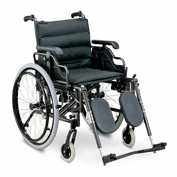 Wheelchair - Deluxe - Elevating Legrest - ON SALE - FREE DELIVERY. While Stocks Last.