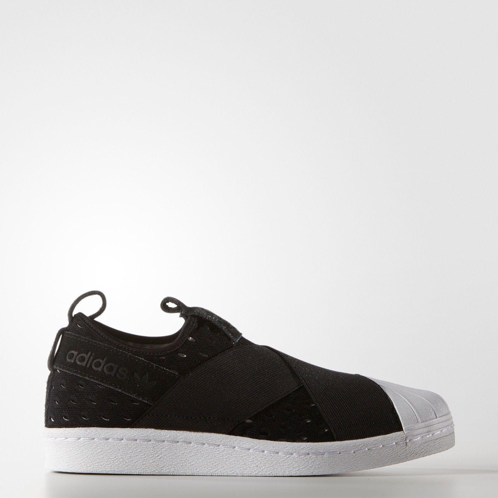 La reducción del precio s74986 Superstar deslizarse sobre negro las mujeres hombres zapatos negro sobre unisex f9fd14