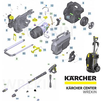 Karcher Hd 6 13 Spare Parts List Pressure Washer Repair 1