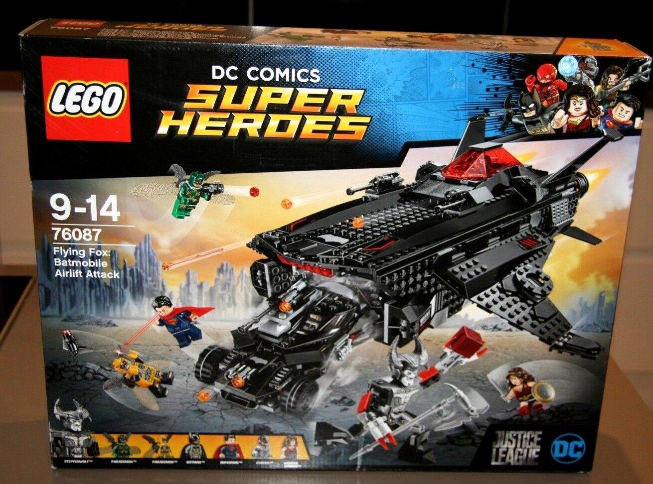 76087 LEGO DC COMICS SUPER HEROES  76087 LA VOLPE VOLANTE  BATMOBILE PONTE AEREO ATTACCO  comprare sconti