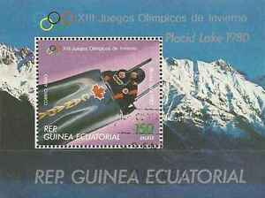 Timbre-Sports-d-039-hiver-JO-Bobsleigh-Guinee-equatoriale-o-lot-1764
