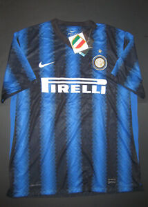 hot sale online 20661 aa9e8 Details about New 2010-2011 Nike Inter Milan Internazionale Jersey Shirt  Kit Maglia Calcio