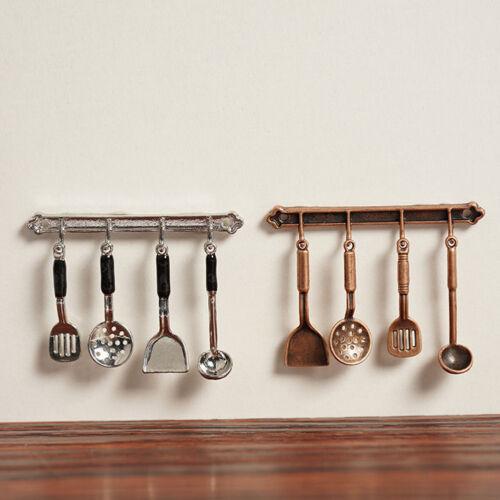 Cn /_ DR7 5pcs Cuisine Maison de Poupée Mini Cuillère Pelle Ustensiles Outils
