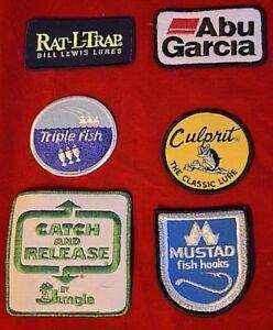 "The Abu Garcia Patch 2.75/"" Emblem Logo Badge #ABS1"