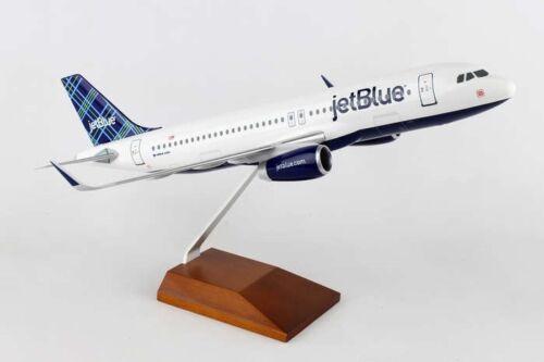 EXECUTIVE JETBLUE  AIRBUS A320 TARTAN 1:150 DESK MODEL SKYMARKS