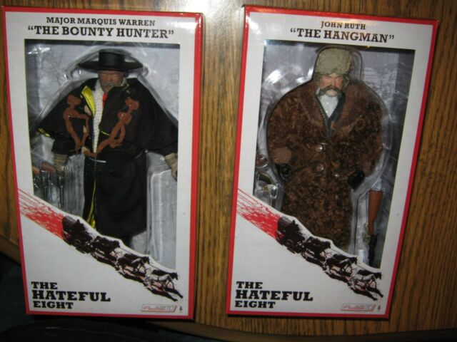 """Hateful Eight NECA VERY LIMITED 8"""" Action Figure Mego scale IN STOCK Tarantino"""