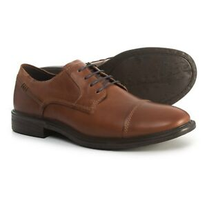 New Men`s ECCO Knoxville Cap Toe Lace Oxford Shoes Leather 601574  57c82c051d3