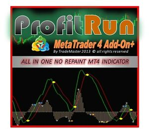 ** Profitrun ** Pas De Repeindre Indicateur Meta Trader Mt4 Forex Stocks Futures Trading-afficher Le Titre D'origine Prix ​​RéDuctions
