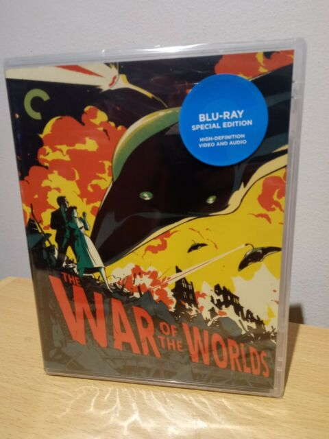 War Of The Worlds Blu Ray Criterion Collection Region A BRAND NEW & SEALED