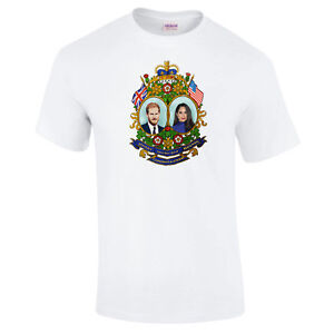 Royal-Wedding-Prince-Harry-Meghan-Markle-Royalist-Monarchy-PREMIUM-MENS-T-shirt