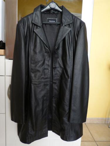 manteau 44 Neuf Comme Longue Cuir T42 Veste Noir Cfx5wTfq