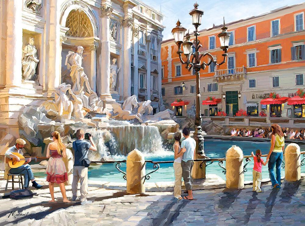 prezzo basso 3000 pcs Puzzle Puzzle Puzzle The Trevi Fountain Castorle C-300389  a prezzi accessibili