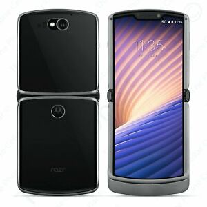 Motorola xt2071-2 Folding Flip Smart Phone AT&T Charcoal 256GB A Stock