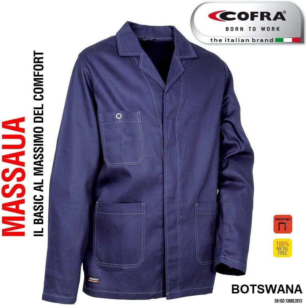 Immagine 01 - Giacca da lavoro COFRA modello BOTSWANA 100% cotone 270 g/m² industria, logist