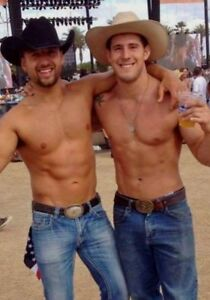 78ed0dca09816 Shirtless Male Muscular Country Cowboy Hunk Jocks in Jeans PHOTO 4X6 ...