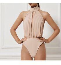 Misha Collection Amorita Bodysuit Nude XS Worn Once ORIG $205 AUS 6 US 2 0