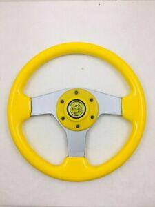 13-Inch-Steering-Wheel-Fiat-128-X19-124-500-600-850-Spider-Abarth-NEW-352