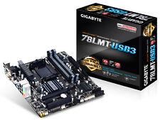 GIGABYTE GA-78LMT-USB3 AM3+ AMD 760G HDMI USB 3.0 Micro ATX AMD Motherboard