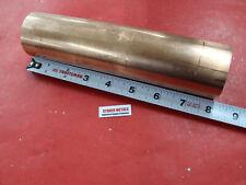2 Diameter C110 Copper Round Rod 8 Long H04 Solid Cu New Lathe Bar Stock