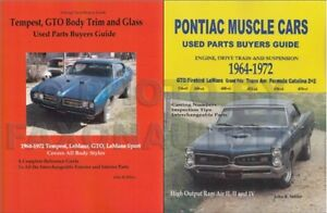 Details about 1964-1972 GTO and Tempest Parts ID and Interchange Manual Set  Pontiac LeMans