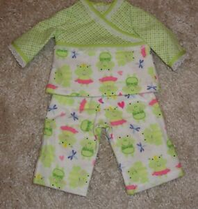 Cupcakes For Breakfast 3PC Pajama Set 18 in Doll Clothes Fits American Girl