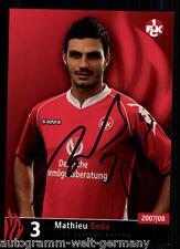 Mathieu Beda 1.F.C. Kaiserslautern 2007/08 TOP + A 63306