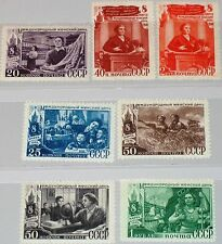 RUSSIA SOWJETUNION 1949 1318-24 1334-40 Intl. Women´s Day Weltfrauentag MNH