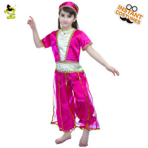 b2ca78c4ca20 Deluxe Arabian Princess Costumes kids Arab Belly Dance Outfit for ...