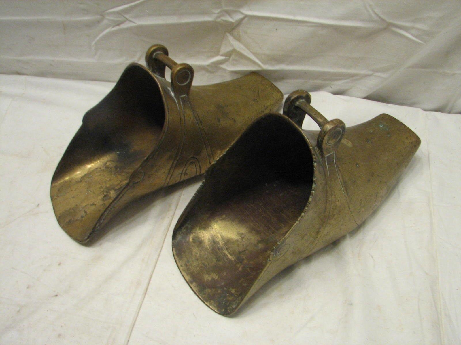 Pair  Brass Stirrups Vaquero Spanish Conquistador Horse Riding shoes Equestrian  fast delivery