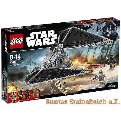 LEGO® Star Wars™: 75154 TIE Striker™ & 0.-€ Versand ! NEU & OVP !