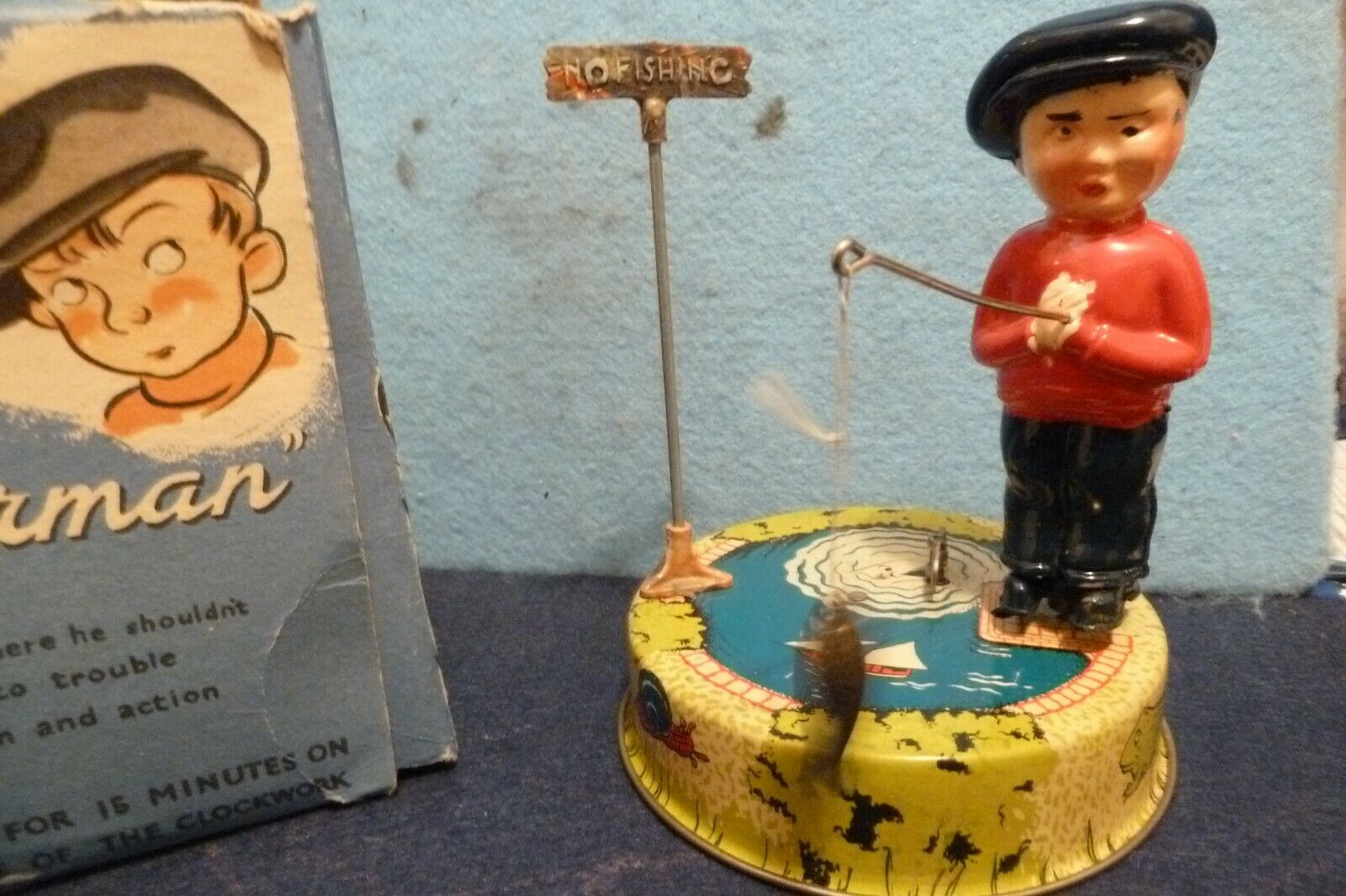 bilLY FIERMAN RARE ITEM CLOCKWORK ENGLAND