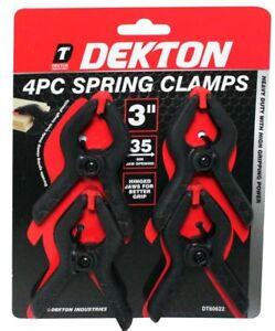 """4 X 3"""" Forte Plastique Spring Clamps Stand De Marché Clips Nylon Large Bâche-afficher Le Titre D'origine N48np9t1-07212512-447879108"""