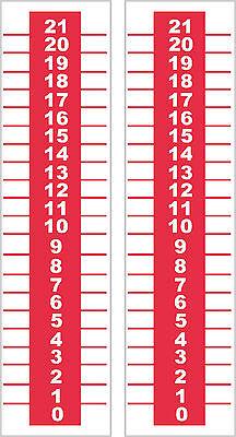1 Cornhole Scoreboard Bean Bag Game Baggos Horseshoes Bocce Ball Black 21 top