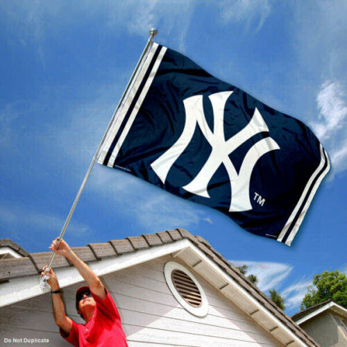 New York Yankees Logo 3x5 Banner Flag