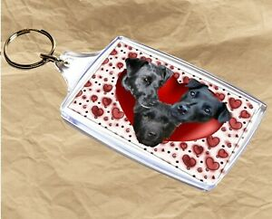 Patterdale-Terrier-Keyring-Dog-Gift-Key-Ring-77x45mm-Xmas-Gift-Mothers-Day-Gift