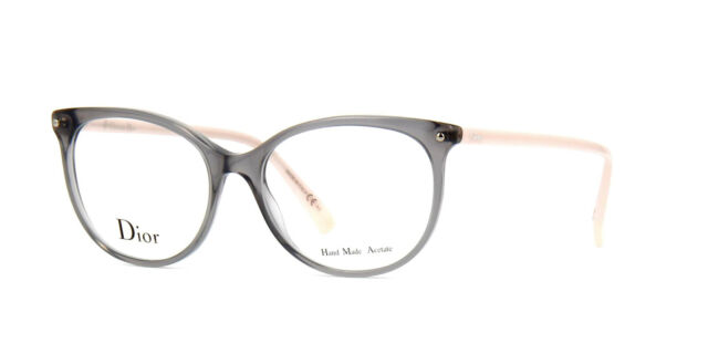 Dior DIOR CD 3284 6NI Grey 53-16-140 Brille, Fassung NEU!