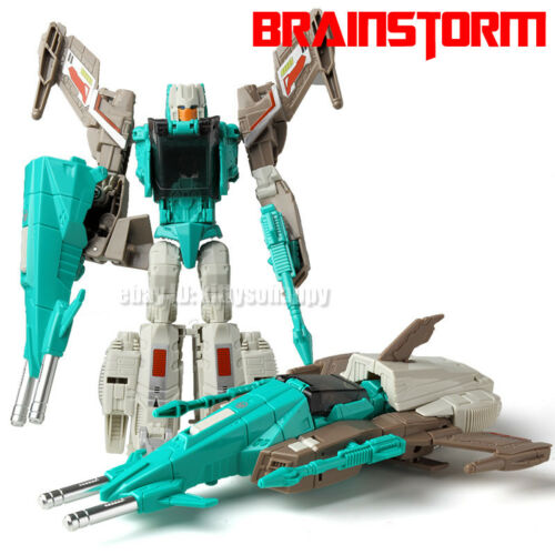 """Kids Gift Toy Robot Fighter Enlarge The Headmasters Brainstorm 8/"""" Action Figure"""