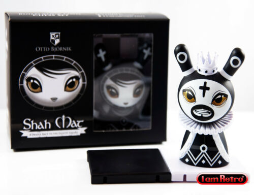 Shah Mat Chess Series with Pawn Otto Bjornik King Black Kidrobot